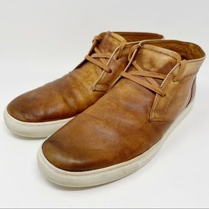 Blake McKay Owens Cognac Leather Chukka Boot 12